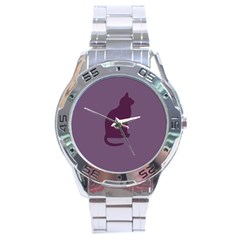 Kitty Stainless Steel Watch