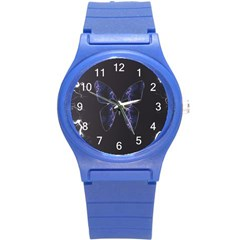 Electric Butterfly Plastic Sport Watch (small)