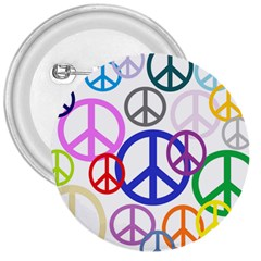 Peace Sign Collage Png 3  Button