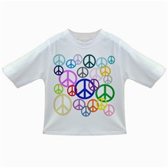 Peace Sign Collage Png Baby T Shirt