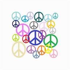 Peace Sign Collage Png Canvas 24  x 36  (Unframed)