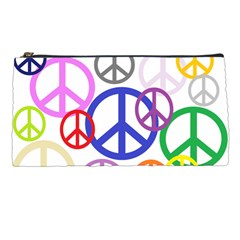 Peace Sign Collage Png Pencil Case