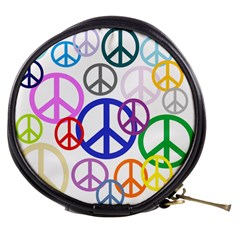 Peace Sign Collage Png Mini Makeup Case