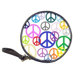 Peace Sign Collage Png Cd Wallet