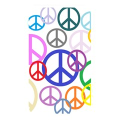 Peace Sign Collage Png Memory Card Reader (Rectangular)