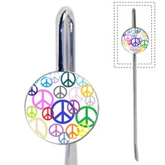 Peace Sign Collage Png Bookmark
