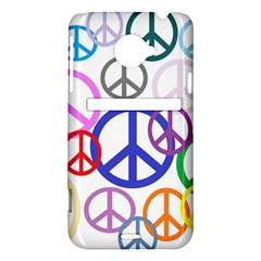 Peace Sign Collage Png HTC Evo 4G LTE Hardshell Case