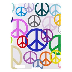 Peace Sign Collage Png Apple iPad 3/4 Hardshell Case
