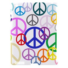 Peace Sign Collage Png Apple iPad 3/4 Hardshell Case (Compatible with Smart Cover)