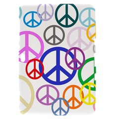Peace Sign Collage Png Samsung Galaxy Tab 8.9  P7300 Hardshell Case