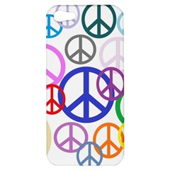 Peace Sign Collage Png Apple Iphone 5 Hardshell Case