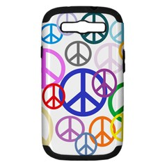 Peace Sign Collage Png Samsung Galaxy S III Hardshell Case (PC+Silicone)