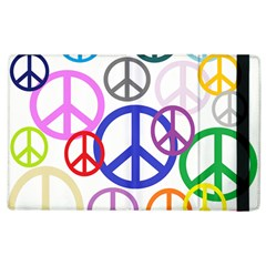 Peace Sign Collage Png Apple iPad 2 Flip Case
