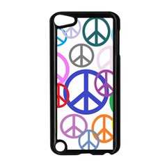 Peace Sign Collage Png Apple iPod Touch 5 Case (Black)