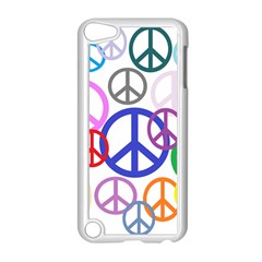 Peace Sign Collage Png Apple iPod Touch 5 Case (White)