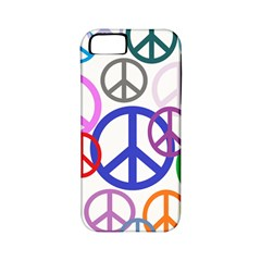 Peace Sign Collage Png Apple Iphone 5 Classic Hardshell Case (pc+silicone)
