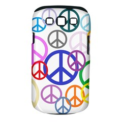 Peace Sign Collage Png Samsung Galaxy S III Classic Hardshell Case (PC+Silicone)