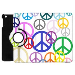 Peace Sign Collage Png Apple iPad Mini Flip 360 Case