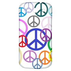 Peace Sign Collage Png Samsung Galaxy S3 S III Classic Hardshell Back Case