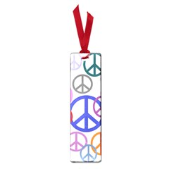 Peace Sign Collage Png Small Bookmark