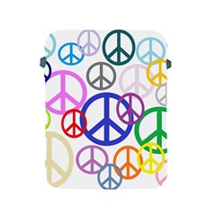 Peace Sign Collage Png Apple Ipad Protective Sleeve