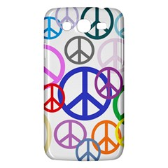 Peace Sign Collage Png Samsung Galaxy Mega 5 8 I9152 Hardshell Case