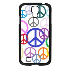 Peace Sign Collage Png Samsung Galaxy S4 I9500/ I9505 Case (black)