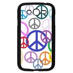 Peace Sign Collage Png Samsung Galaxy Grand DUOS I9082 Case (Black)