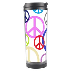 Peace Sign Collage Png Travel Tumbler