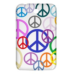 Peace Sign Collage Png Samsung Galaxy Tab 3 (7 ) P3200 Hardshell Case