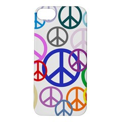 Peace Sign Collage Png Apple iPhone 5S Hardshell Case