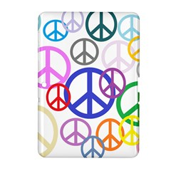 Peace Sign Collage Png Samsung Galaxy Tab 2 (10.1 ) P5100 Hardshell Case