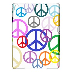 Peace Sign Collage Png Apple Ipad Air Hardshell Case