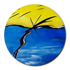 Spring 8  Mouse Pad (Round)