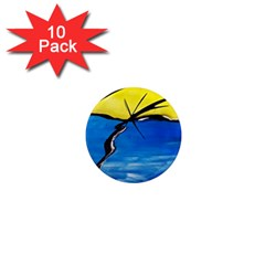 Spring 1  Mini Button Magnet (10 Pack)