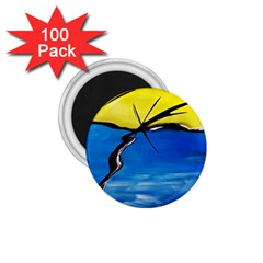 Spring 1 75  Button Magnet (100 Pack)