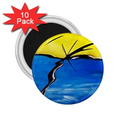 Spring 2.25  Button Magnet (10 pack)