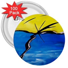 Spring 3  Button (100 Pack)