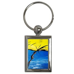 Spring Key Chain (rectangle)