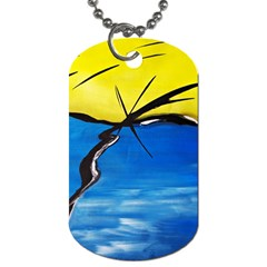 Spring Dog Tag (One Sided)