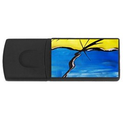 Spring 4gb Usb Flash Drive (rectangle)
