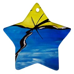 Spring Star Ornament (two Sides)