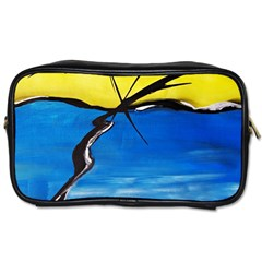Spring Travel Toiletry Bag (one Side)