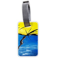 Spring Luggage Tag (One Side)