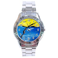 Spring Stainless Steel Watch