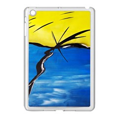 Spring Apple Ipad Mini Case (white)