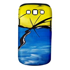 Spring Samsung Galaxy S Iii Classic Hardshell Case (pc+silicone)