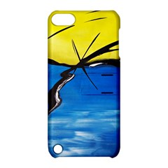Spring Apple Ipod Touch 5 Hardshell Case With Stand