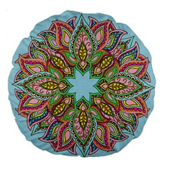 More Flowers 18  Premium Round Cushion