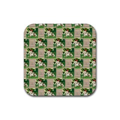 Victorian St Patrick s Day Drink Coasters 4 Pack (Square)